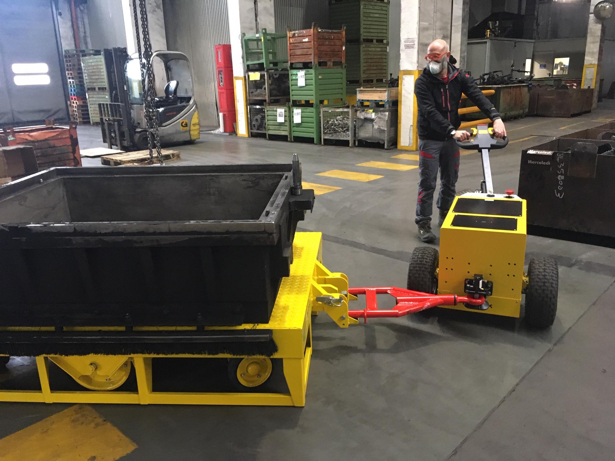 NEW ELECTRIC TUGS OT2000 & OT2500
